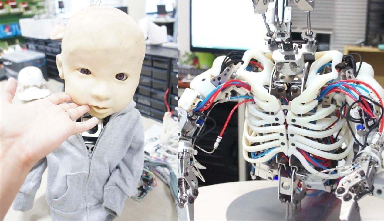 子供型アンドロイドロボットAffetto